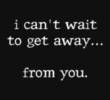 Get Away... by xTRIGx