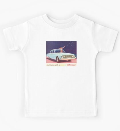 Australian with a world of difference Kids Tee