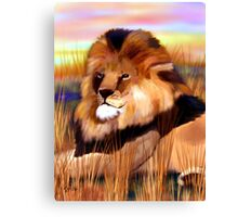 Proud to be King Canvas Print