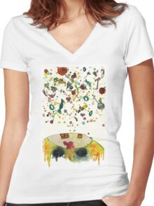 La~La~La~Candy! Women's Fitted V-Neck T-Shirt