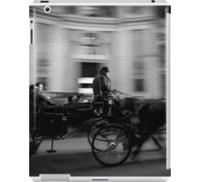 Horse and Carriage in Vienna, Austria iPad Case/Skin