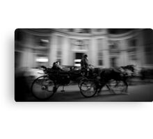Horse and Carriage in Vienna, Austria Canvas Print