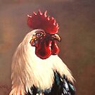 Rooster - Portrait by dusanvukovic