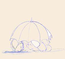 The Cast Iron Umbrella by Lisadee Lisa Defazio
