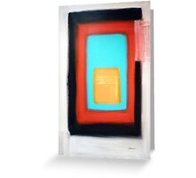 Living Rothko Greeting Card