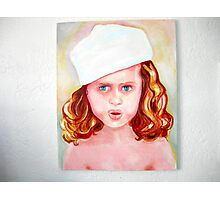 girl with a Hat Photographic Print