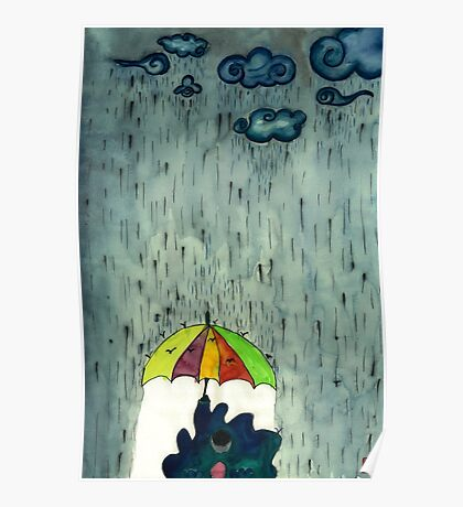 Oh! Raining Night Poster