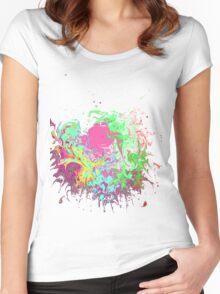 Fingerpaint Women's Fitted Scoop T-Shirt