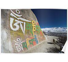 Lhasa Valley, Tibet Poster
