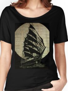 moonlite voyage Women's Relaxed Fit T-Shirt