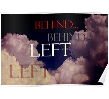 Left Behind ~ The Day and Hour Unknown Poster