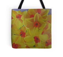 Spring Fever Year-Round, Narcissus Tote Bag