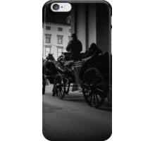 Horse-drawn carriage in Vienna, Austria iPhone Case/Skin