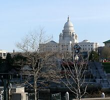 Rhode Island State House by Jack McCabe