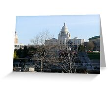Rhode Island State House Greeting Card