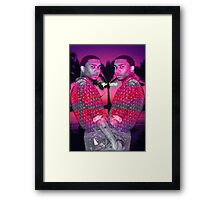 lil b design Framed Print