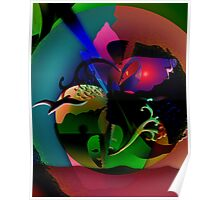 Abstraction Of The Nature Poster