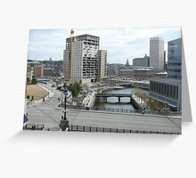 Regency Plaza at Waterplace Park - © Providence RI Greeting Card