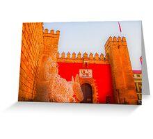 Sevilla at Christmas Greeting Card