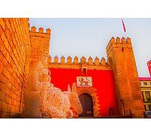 Sevilla at Christmas Photographic Print