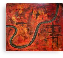 Eton Range Canvas Print