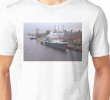 Russian Cargo Ship At Dusk Unisex T-Shirt