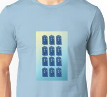 Tardis Repeated Unisex T-Shirt