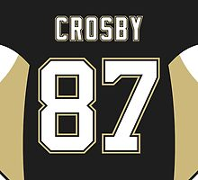 Pittsburgh Penguins Sidney Crosby Jersey Back Phone Case by Russ Jericho