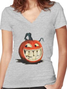 cheeky jack tee Women's Fitted V-Neck T-Shirt