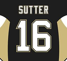 Pittsburgh Penguins Brandon Sutter Jersey Back Phone Case by Russ Jericho
