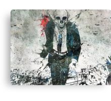Remorse Is for the Dead Canvas Print