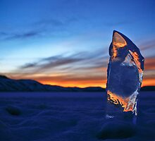 A Frozen Sunset by Ryan Wright
