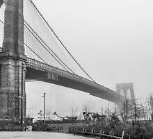 The Brooklyn Bridge by RogerEchauri
