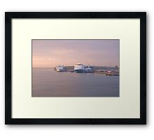 Finnlines Ferries Before Sunrise Framed Print