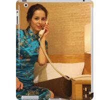 Room Service iPad Case/Skin