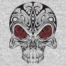 Tribal Vampire Skull by Dalton Sayre
