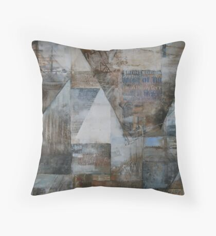 James Turner Pioneer of Augusta Throw Pillow