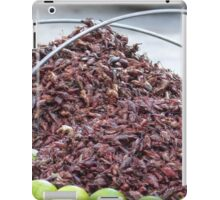 roastet grasshoppers - chapulines tostados iPad Case/Skin