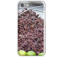 roastet grasshoppers - chapulines tostados iPhone Case/Skin