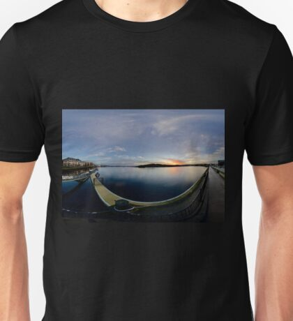 Dawn Calm at Foyle Marina, Derry, N.Ireland T-Shirt