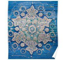 Blue Danube Crystal Poster