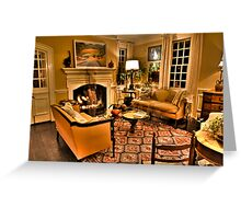 Ghostly Reflections Greeting Card