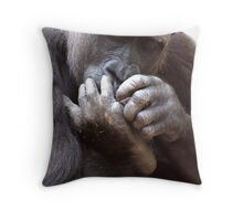 My right foot!!! Throw Pillow