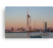 Spinnaker Tower at Sunset Canvas Print
