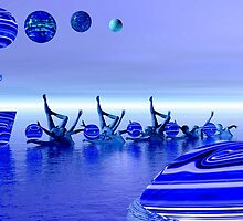 Blue  2 by Ann Morgan