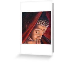 Veiled Buddha 1 Greeting Card