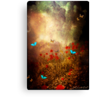 Spring is heading North... Canvas Print