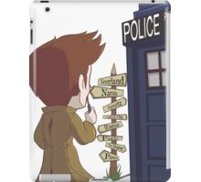 A Doctor's Decision iPad Case/Skin