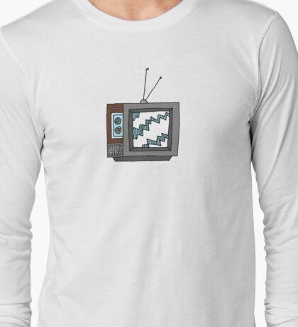 Retro Television Long Sleeve T-Shirt
