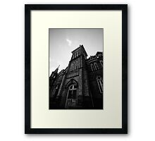 Alma College - Alma Dreams Torn Asunder Framed Print